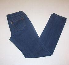 Junior Women's City Streets Low Rise Skinny Legs Blue Denim Jeans 5
