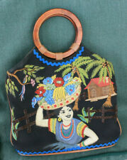 ISABELLA FIORE VINTAGE TOTE BAG TROPICAL