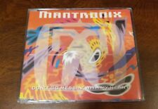 Mantronix cd - Don't Go Messin With My Heart - 1991 - UK CD Single