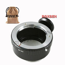 Minolta MD MC lens to Sony E mount tripod adapter NEX-7 5T 6 A6000 A7 A7R A5100