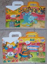 Alf Burger King Kid's Meal Box Adventures of ALF on Melmar Unused 1988 Mint