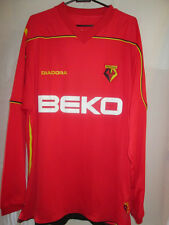 Watford 2008-2009 Away Football Shirt LS Size Large /16048