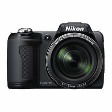 Nikon COOLPIX L110 12.1 MP / 15x Optical Zoom - Digital Camera - Black