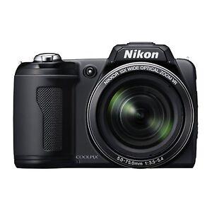 Nikon COOLPIX L110 12.1 MP / 15x Optical Zoom - Digital Camera - Black