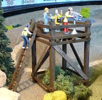 HOCHSTAND aus HOLZ Kameraturm Kontrollturm für Carrera DIGITAL Figuren     85560