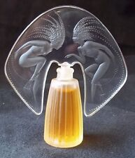 "LALIQUE Miniature Perfume Bottle (full) 1998 Limited Edition ""Ondines"" Mini"