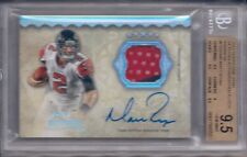 MATT RYAN 2012 TOPPS FIVE STAR VETERAN AUTOGRAPHED PATCH RAINBOW BGS 9.5/AU 10