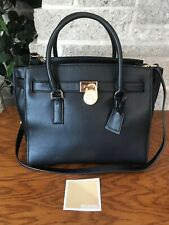 NWT MICHAEL KORS HAMILTON LARGE TRAVELER LG SATCHEL HANDBAG BAG PURSE TOTE