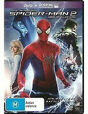The Amazing Spider-Man 2 Rise of Electro (2014, DVD, Rgn 4) BRAND NEW SEALED