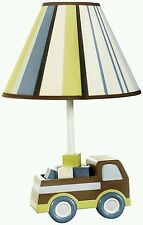Kidsline Lamp and Shade, Mosaic Transport (Discontinued by Manufacturer)