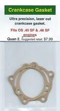 OS .40 SF & .46 SF Crankcase Gasket 2 Pack NIP