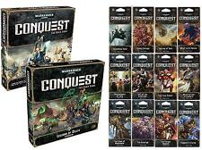 Warhammer 40K 40,000: Conquest LCG ULTIMATE COLLECTION - CORE, EXP, 12 WAR PACKS