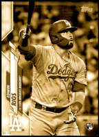Edwin Rios 2020 Topps Short Print Variations 5x7 Gold #681 /10 Dodgers