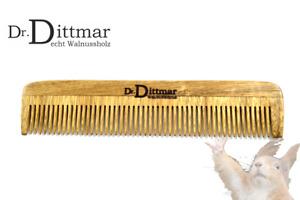 WALNUSSHOLZ - Dr. Dittmar - Taschenkamm Herrenkamm Holzkamm mit feiner Zinkung