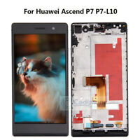 LCD Display For Huawei Ascend P7 P7-L10 Touch Digitizer Screen Assembly F​rame Q