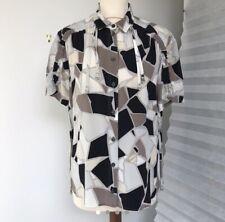 GUCCI Silk Print Shirt Blouse IT 46 UK 14