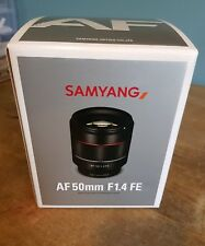 Samyang AF 50mm F1.4 Autofocus Lens: Sony FE Full Frame E Mount
