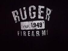 RUGER Firearms est 1949 black graphic 3XL t shirt