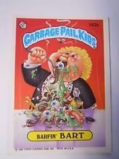 VINTAGE! 1986 Topps Garbage Pail Kids Trading Card #162b-Barfin' Bart