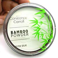 CCUK Constance Carroll Bamboo Face Powder Silk White Transparent Compact