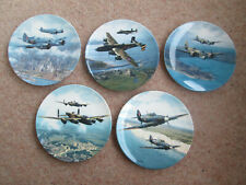 More details for raf heroes over home territory set of 5 plates