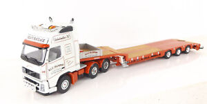 Lion Toys Volvo FH16 With Nooteboom Trailer RLC Transport Limited Edition