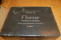 Finesse Decanter Set w/ two wine glasses Eisch Glas Germany Handmade Vino Nobile