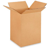 25 8x8x12 Cardboard Paper Boxes Mailing Packing Shipping Box Corrugated Carton