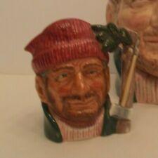 Royal Doulton Lumberjack D6613 Small size character jug