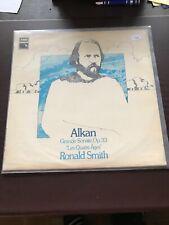 Alkan - Grande Sonate Quatre Ages LP Ronald Smith 2991