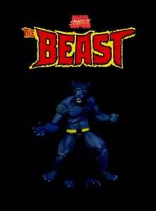 """Marvel Select BEAST Jim Lee 90's DST 7"""" X-Men Blue Classic Comics Action Figure"""
