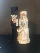YANKEE CANDLE HOLDER'S 2014 HALLOWEEN/ BRIDAL BONEY BUNCH Wedding  GUC Repaired