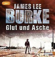 James Lee Burke - Glut und Asche 2 MP3 CD Thriller Hörbuch CDs Dietmar Wunder