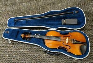 Giuseppe Meucci Hand Crafted Copy of Antonino Stradiveri Violin w/ Case