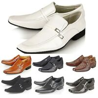 Dyanmic Mens Italian Style Designer Smart Office Formal Wedding Slip On Shoes