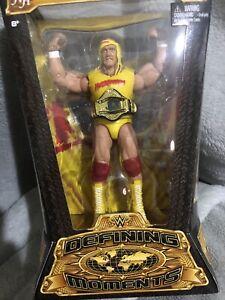 Mattel WWE WWF Hulk Hogan Defining Moments Heavyweight Champion Wrestling 2014