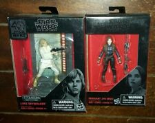 2 x Star Wars The Black Series: SERGEANT JYN ERSO & LUKE SKYWALKER Figures!
