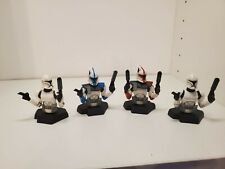 Star Wars Gentle Giant Bust Ups Arc Trooper Lot Red Blue 2x Clone Troopers