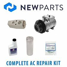 Fits Toyota 4Runner 89-93 Full A/C Repair KIT With OEM Denso Compressor & Clutch
