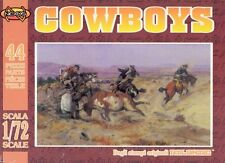 NEXUS 1/72 ATL-016 Cowboys (16 Figures, 8 Horses, 20 Cattle)