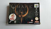 Quake - Nintendo 64 N64 Game [PAL UKV] CIB