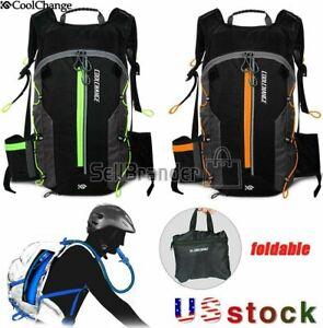 COOLCHANGE MTB Bike Cycling Folding Backpack Outdoor Camping Water Bladder Bag