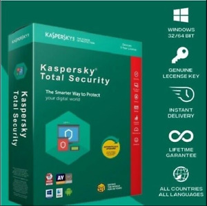 NEW KASPERSKY TOTAL SECURITY 1 DEVICE 1 YEAR 2021 GLOBAL ACTIVATION