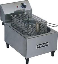 New 1 Basket Counter Top Electric Deep Fat Fryer Uniworld Uf 1b 3873 Ob