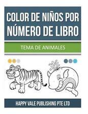 Color de niños Por Número de Libro : Tema de Animales by Happy Vale...