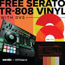 Roland DJ-808 Professional 4-Channel USB DJ Controller for Serato DJ