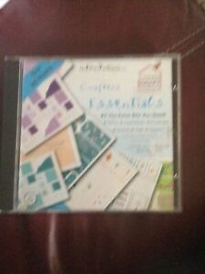 Create and Craft - Crafters Essentials -  CD Rom  At s Card Boxes Envelopes Tags