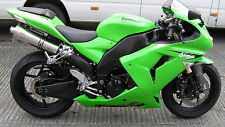 Kawasaki ZX10R 06-07  Stainless Tri-oval ROAD LEGAL MTC Exhausts