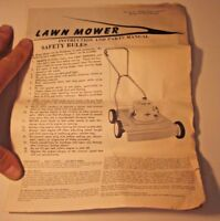 Briggs & Stratton Lawn Mower Manual 270361 Safety Rules FPCo 7105 User Guide Vtg