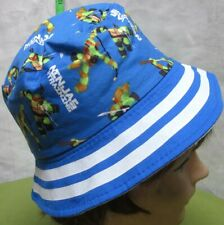 TEENAGE MUTANT NINJA TURTLES bucket cap TMNT kids hat cartoon Nickelodeon